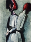 Charles Blackman - Two Figures