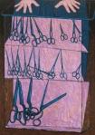 John Brack - The Scissors Shop