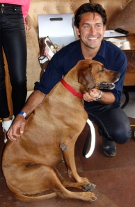 Jamie Durie & Friend