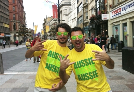 Patriotic Aussies Overseas