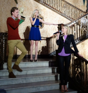 Glenn Hill, Gretel Scarlett & Kirby Burgess Performing at Launch