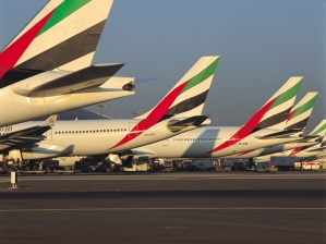 Emirates Image, Emirates Aircraft at Dubai Airport