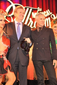 NSW Premier, Barry O'Farrell with Baz Luhrmann