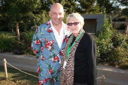 Andrew Fisher-Tomlin with Sandra Tiltman