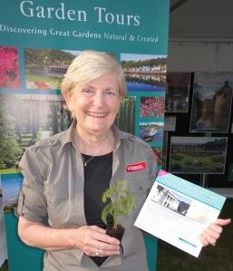 Tour Escort, Horticulturist Judy Horton