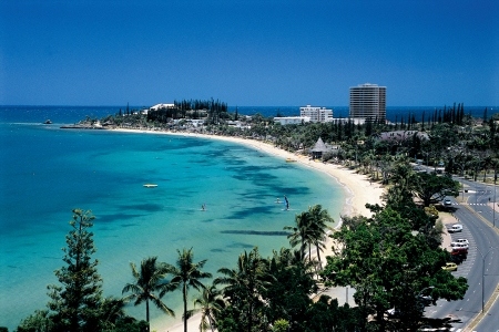 Noumea's Anse Vata Bay - Perfect for Sailing