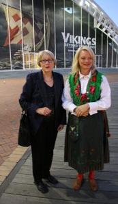 Sandra Tiltman with Teresia Fors