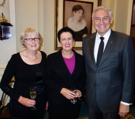 Sandra Tiltman with Lord Mayor Clover Moore & The Hon. George Souris, MP Minister for Tourism