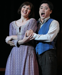 Nicole Car as Mimi & Ji-Min Park as Rodolfo in La boheme
