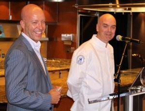 Philip Engelberts with Chef Mark Best