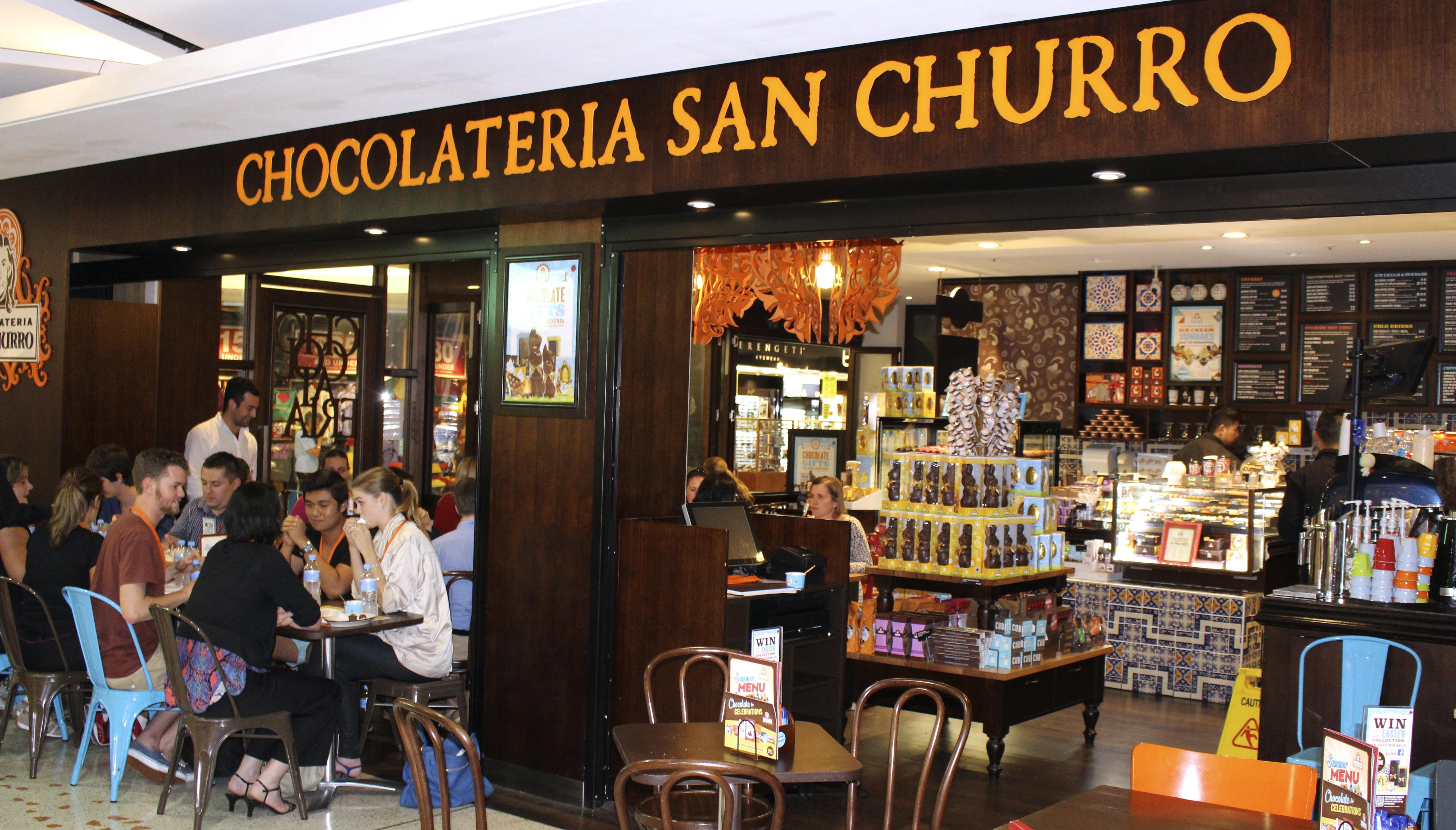 Spanish Hot Chocolate San Churro
