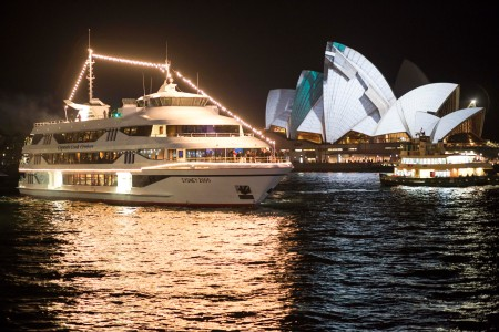 Vivid Sydney 2012 - Captain Cook cruises