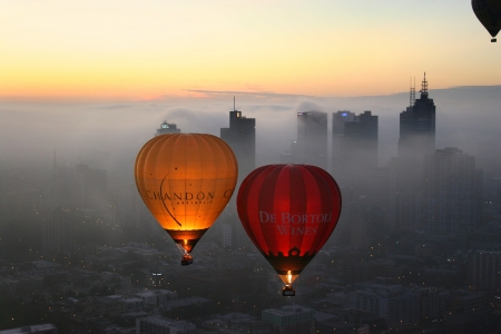 Global Ballooning over Melbourne