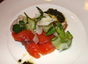 Citrus Cured Ocean Trout