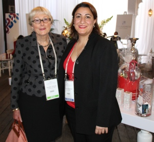 Sandra Tiltman with Samea Maakrun, CEO of Sasy n Savy