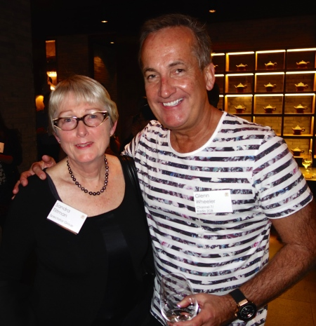 Sandra Tiltman & Radio Personality, Glenn Wheeler