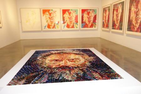 Chuck Close Exhibition at MCA