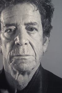 Lou Reed Tapestry by Chuck Close