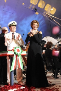 Sophia Loren, MSC Orchestra's Godmother
