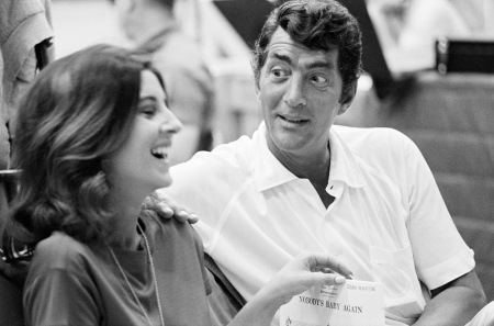 Deana Martin with her famous father Dean