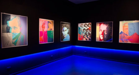 Andy Warhol's Jewish Geniuses_Jewish Museum of Australia (c) Vicki Jones Photography
