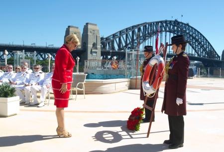 Carnival Australia CEO Ann Sherry