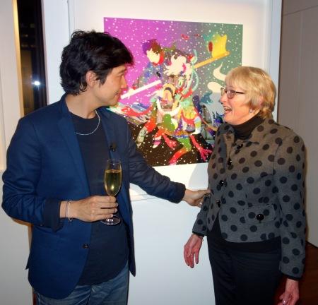 Tomokazu Matsuyama with Sandra Tillman