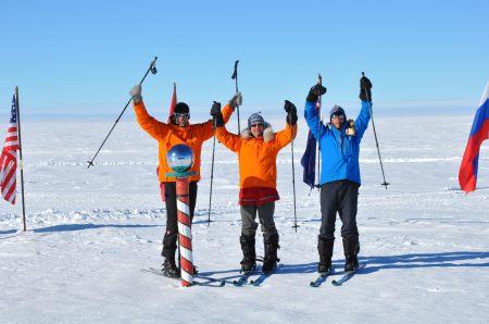 Antarctica skiing