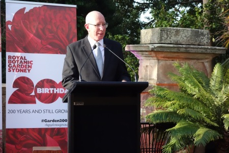 200th Birthday Patron, His Excellency General The Honourable David Hurley AC DSC (Ret'd), Governor of New South Wales