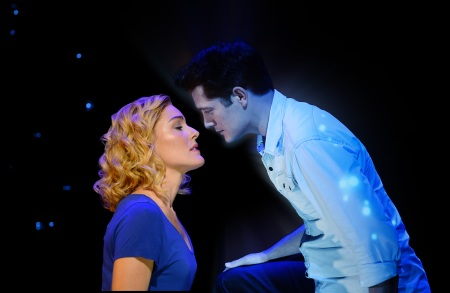 Ghost The Musical Jemma Rix and Rob Mills The Kiss