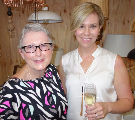 Sandra  Tiltman with Lauren Keenan