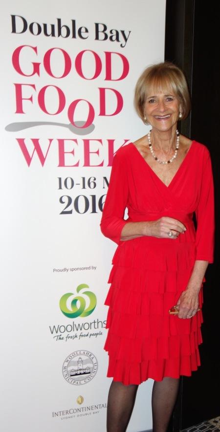 Deirdre O'Loghlin, Organiser, Double Bay Good Food Week