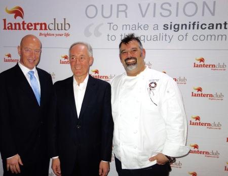Max Markson, Morris Iemma, Executive Chef, John Lanzafame