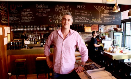 Matthew Lines, Co-owner, Lodge Tapas