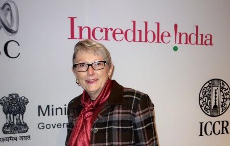Sandra Tillman at Festival announcement