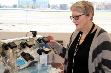 Sandra Tiltman checks out Navman range