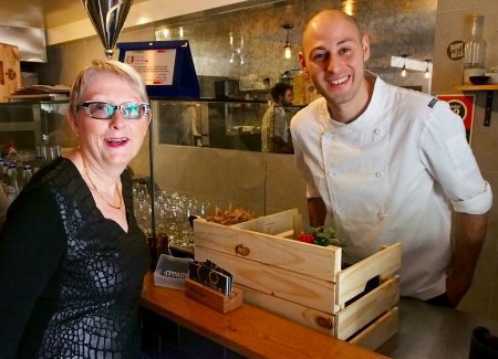 Sandra Tiltman at Recipe Book Launch at Al Taglio, Surry Hills